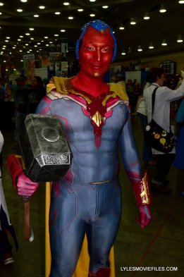 Baltimore Comic Con 2015 cosplay - Avengers Age of Ultron Vision