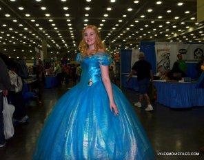Baltimore Comic Con 2015 cosplay - Cinderella wide