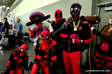 Baltimore Comic Con 2015 cosplay -Deadpool army