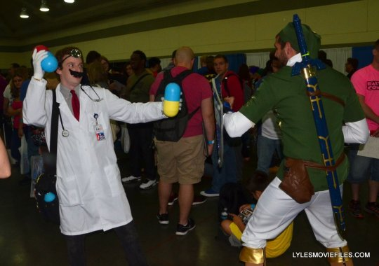 Baltimore Comic Con 2015 cosplay - Dr. Mario and Link