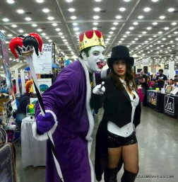 Baltimore Comic Con 2015 cosplay -Emperor Joker and Zatanna