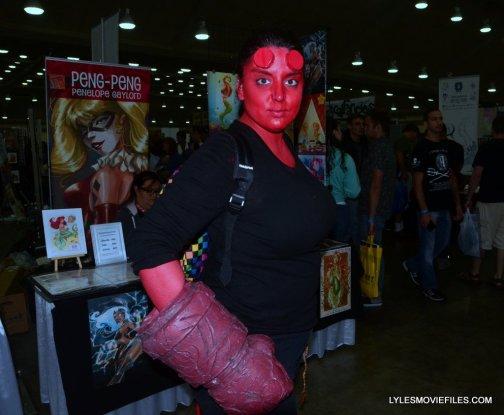 Baltimore Comic Con 2015 cosplay -Hellgirl