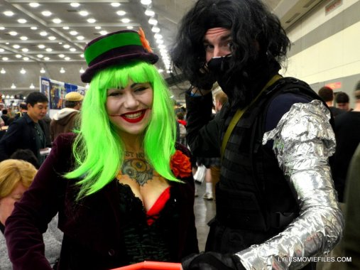 Baltimore Comic Con 2015 cosplay -Joker and Winter Soldier