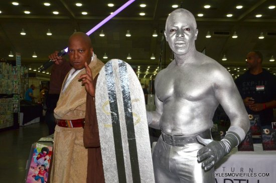 Baltimore Comic Con 2015 cosplay -Mace Windu and Silver Surder