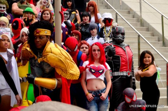 Baltimore Comic Con 2015 cosplay -Mary Jane, Ant-Man, Wasp