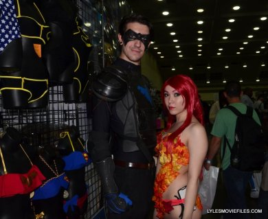 Baltimore Comic Con 2015 cosplay - Nightwing with fall Poison Ivy