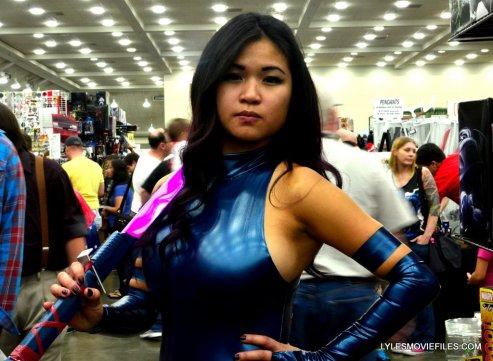 Baltimore Comic Con 2015 cosplay -Psylocke close up