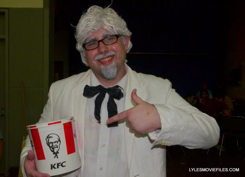 Baltimore Comic Con 2015 cosplay -The real Colonel Sanders