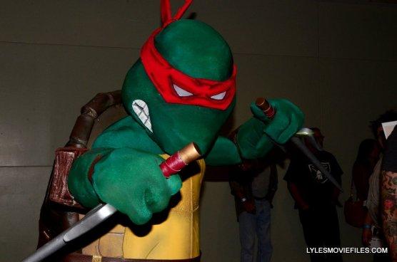 Baltimore Comic Con 2015 cosplay - TMNT Raphael closeup