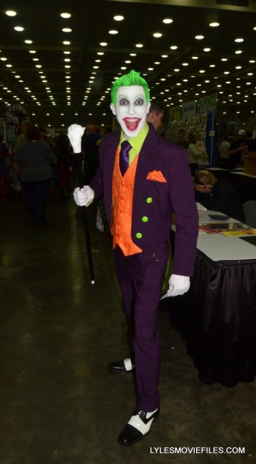 Baltimore Comic Con 2015 cosplay - vintage Joker