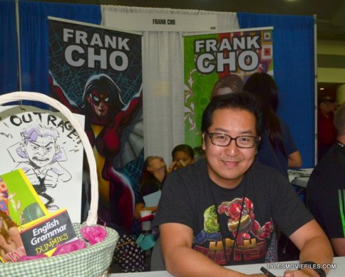 Baltimore Comic Con 2015 -Frank Cho