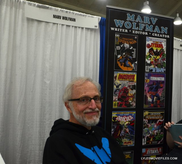 Baltimore Comic Con 2015 -Marv Wolfman