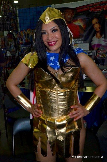 Baltimore Comic Con 2015 -WWE Diva Lucha Underground Melina