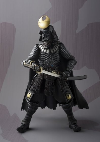 Daisho Darth Vader -pulling out sword