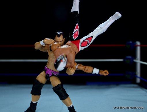 Dean Malenko WWE Elite 37 - countering Rey Mysterio