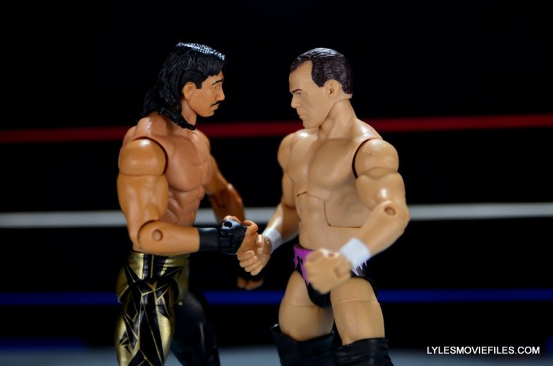 Dean Malenko WWE Elite 37 - handshake with Eddie Guerrero