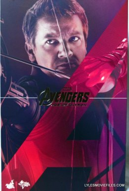 Hawkeye Hot Toys Avengers Age of Ultron - front package