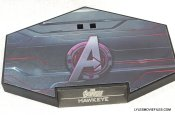 Hawkeye Hot Toys Avengers Age of Ultron - stand closeup