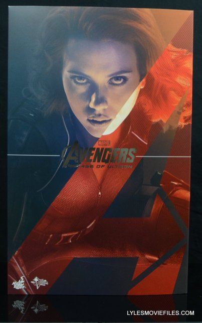 Hot Toys Avengers Age of Ultron Black Widow - front box