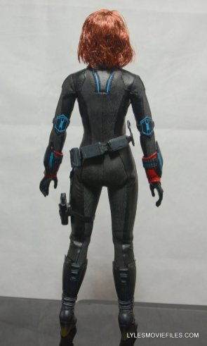 Hot Toys Avengers Age of Ultron Black Widow - rear detail