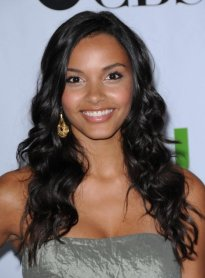 Jessica Lucas -grey top