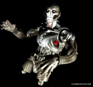 Marvel Legends Bulldozer review - BAF Ultron arms on