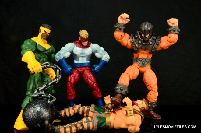 Marvel Legends Bulldozer review - Wrecking Crew beat down Hercules