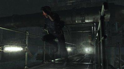 Resident Evil 0 - Albert Wesker running