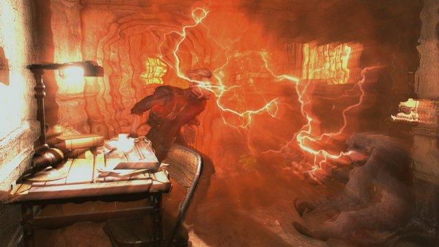 Resident Evil 0 - Albert Wesker unleashes power