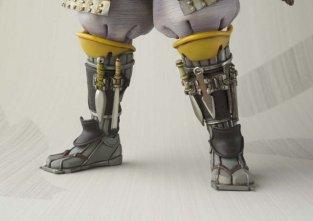 Ronin Boba Fett -boot closeups