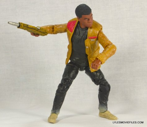 Star Wars Black Series - Finn review -leaning over