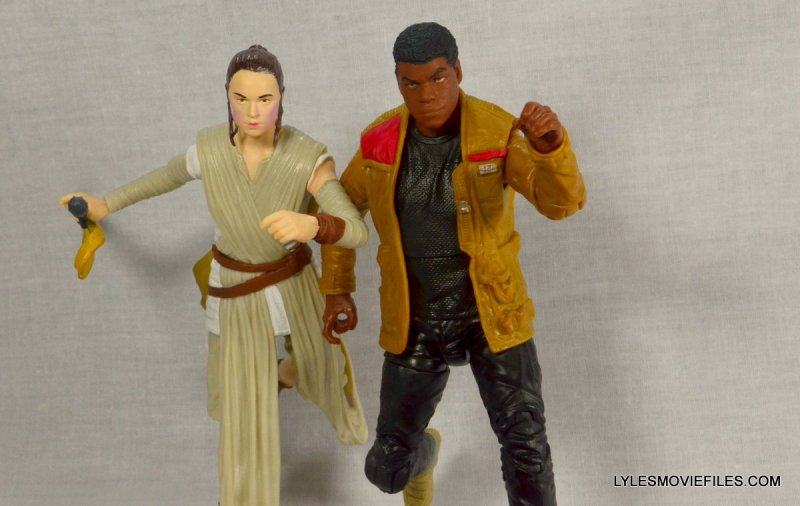 Star Wars Black Series Force Awakens Rey and BB-8 -on the move with Finn