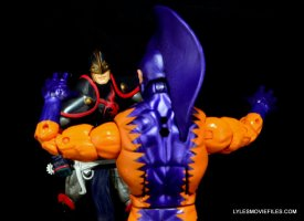 Tiger Shark Marvel Legends - battling Black Knight