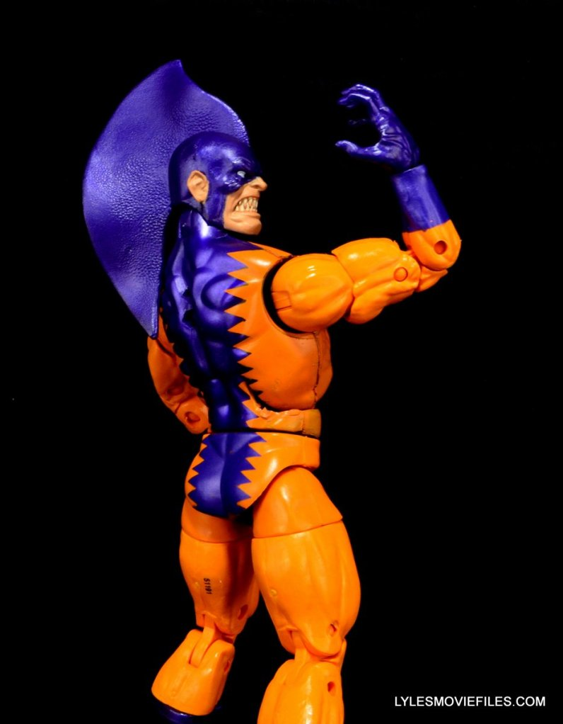 Tiger Shark Marvel Legends - right side paint slop