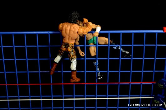 Wicked Cool Toys authentic classic cage -Superfly fighting Orton