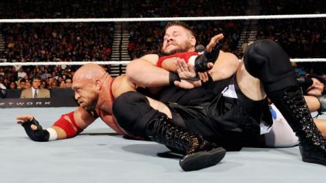 WWE Night of Champions -Kevin Owens vs Ryback