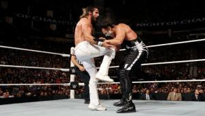 WWE Night of Champions - Rollins vs Sting