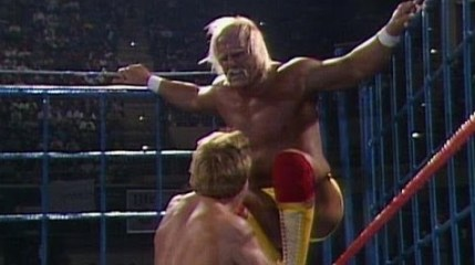 WWF Steel Cage - Paul Orndorff vs Hulk Hogan