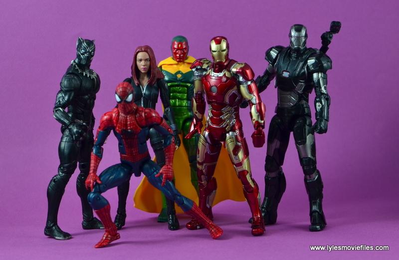 Marvel Legends Age of Ultron War Machine figure review - Team Iron Man