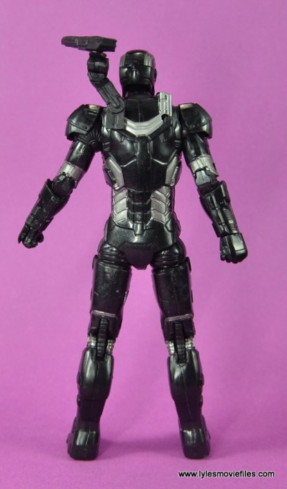 Marvel Legends Age of Ultron War Machine figure review - rear