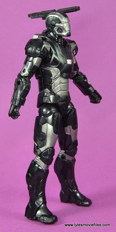 Marvel Legends Age of Ultron War Machine figure review - right side