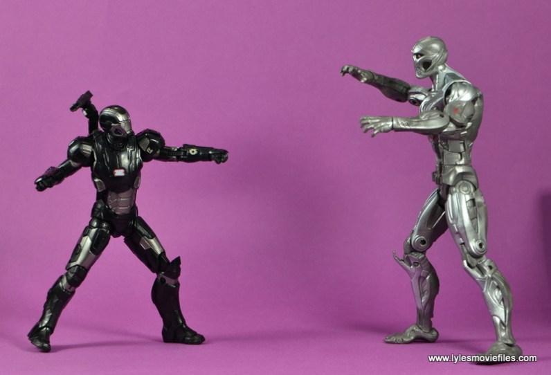 Marvel Legends Age of Ultron War Machine figure review - vs Ultron