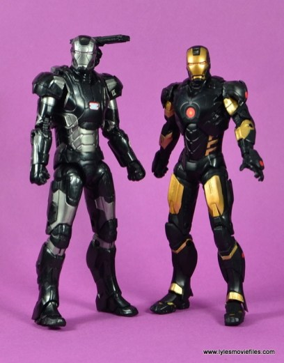 Marvel Legends Age of Ultron War Machine figure review - with Marvel Now Iron Man
