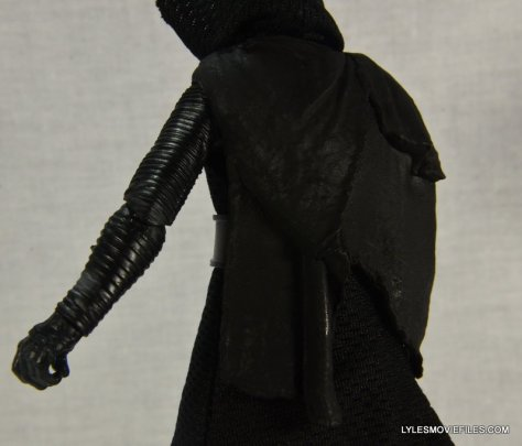 Kylo Ren Force Awakens Star Wars Black Series -back piece