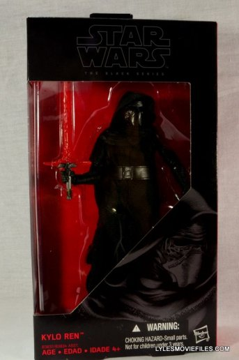 Kylo Ren Force Awakens Star Wars Black Series -front package