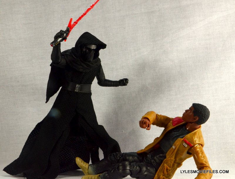 Kylo Ren Force Awakens Star Wars Black Series -Kylo going after Finn