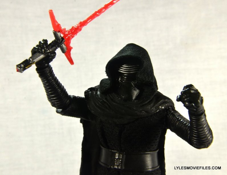Kylo Ren Force Awakens Star Wars Black Series -ready for battle