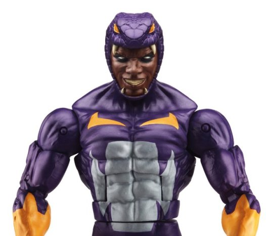 Marvel Legends Civil War wave - Cottonmouth