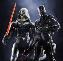 Marvel Legends Civil War wave - Scourge and Taskmaster