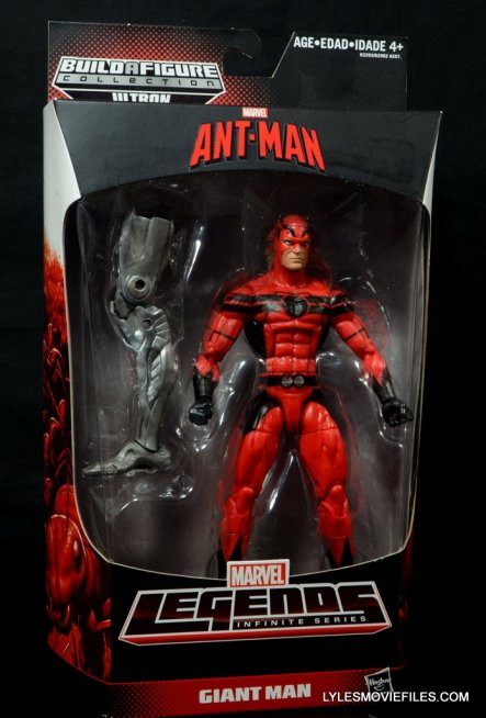 Marvel Legends Giant Man figure review - front package